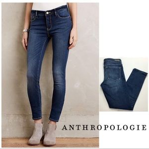 Anthropologie Pilcro Stet Mid-Wash Skinny Ankle